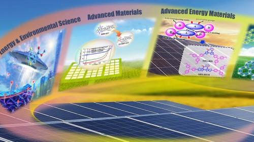 我系教授郭旭岗课题组在太阳能电池领域取得系列研究进展