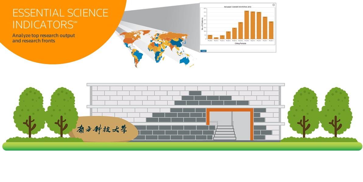南科大材料科學學科進入ESI全球前1%